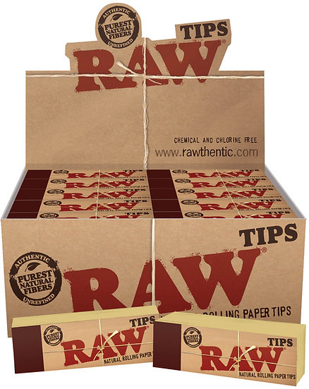Raw Unbleached Card Tips