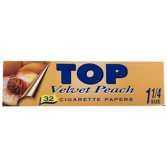 TOP 'Peach' Flavoured 1 1/4 Papers