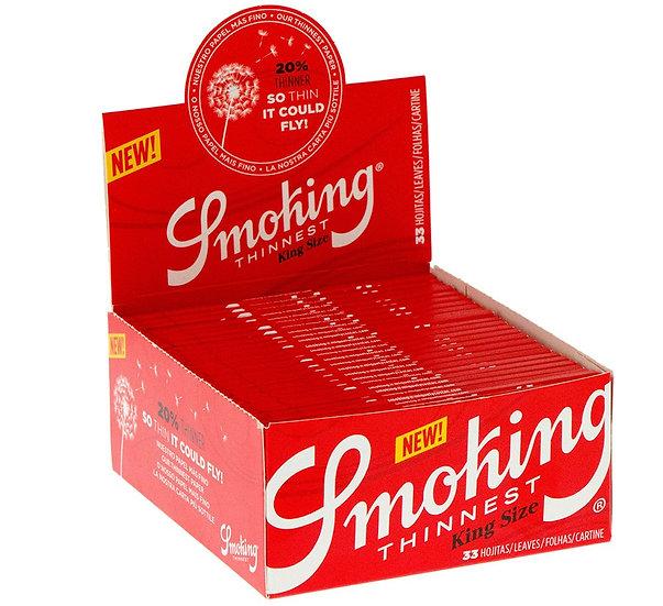 Smoking Thinnest Kingsize Slim