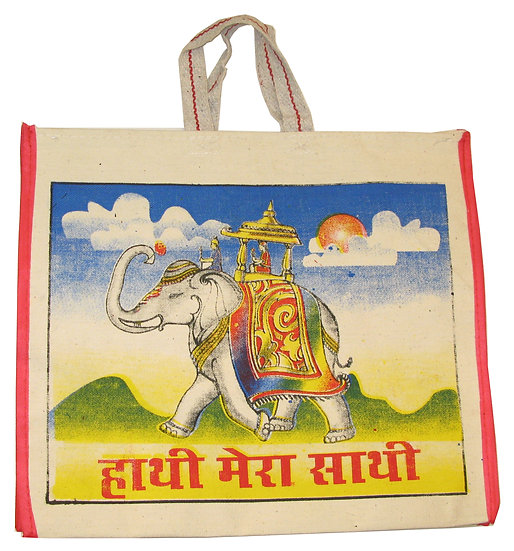 Elephant Design Bag