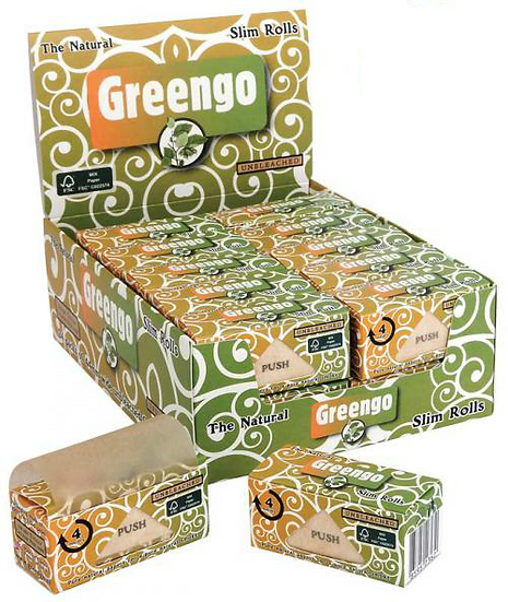 Greengo King Size Slim (44mm) Rolls