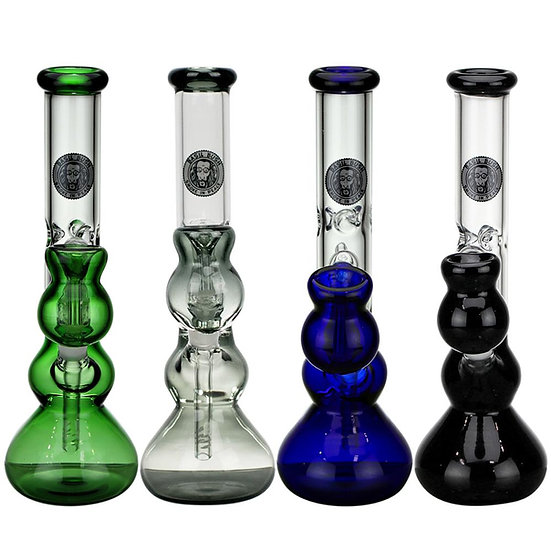 Small Coloured Glass Bongs
