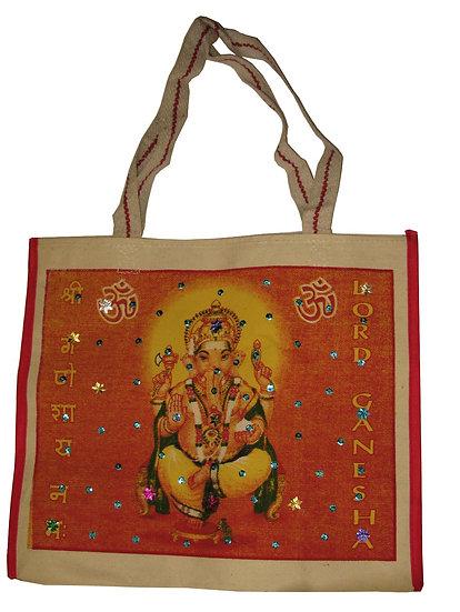 Jemmed Ganesha Design Bag