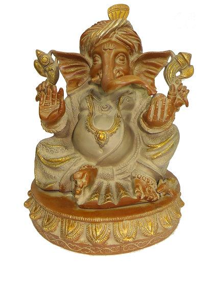 Brass Ganesh Statue (30cm/6.9kg)