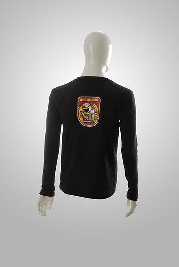 Black Long Sleeve T-Shirt (The Doctor)