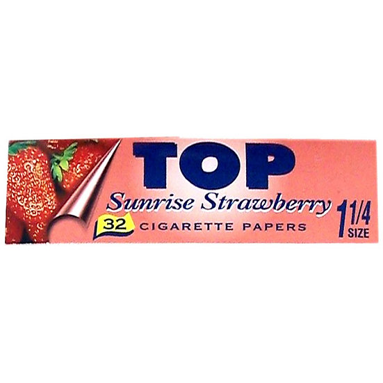 TOP 'Strawberry' Flavoured 1 1/4 Papers