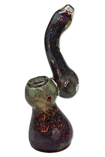 Coloured Glass Bubbler