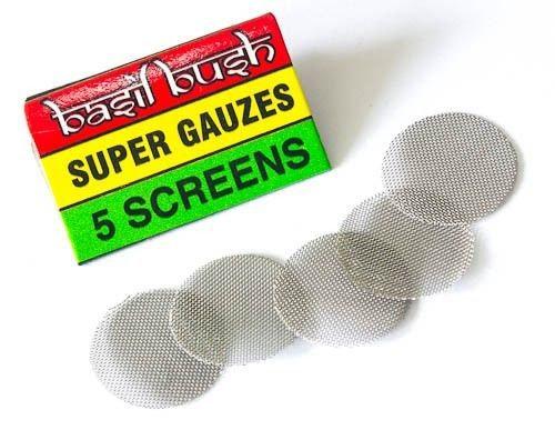 Basil Bush Pipe Screens
