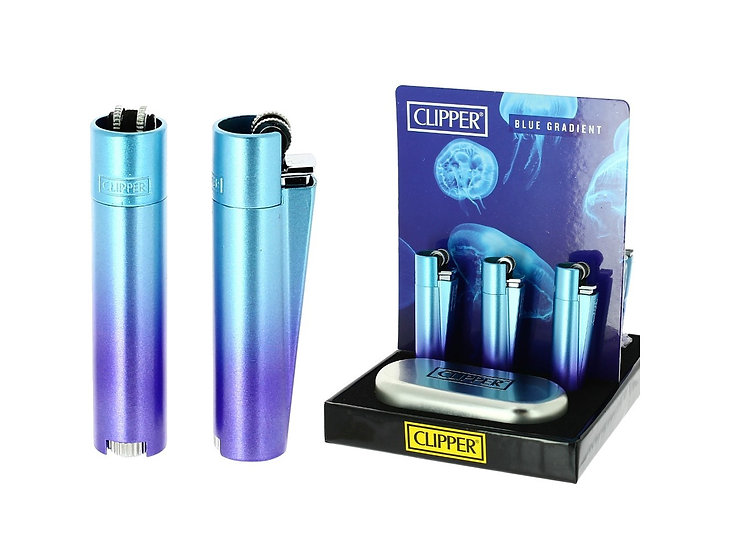 Clipper Metal 'Blue Gradient' Gift Set