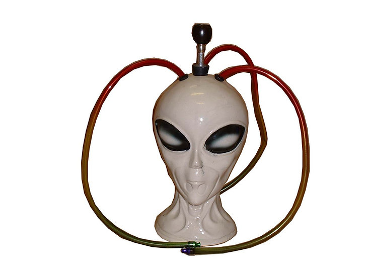 Ceramic Alien Head (4-Way Large)
