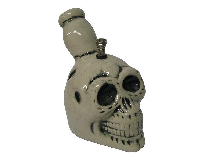 Premium Ceramic Skull Head Bong