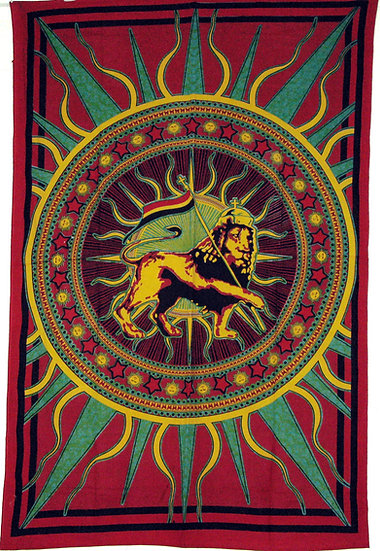 Rasta Lion Design