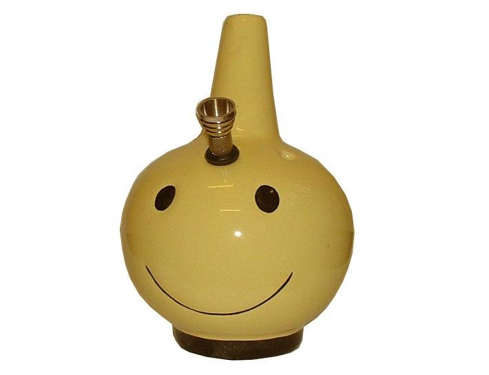 Smiley Premium Ceramic Bong