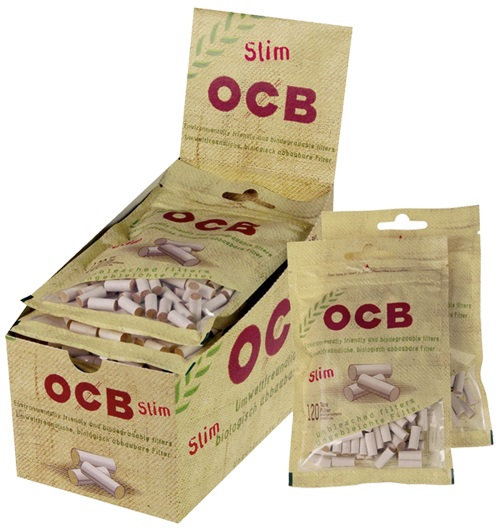 OCB Unbleached Slim Filters
