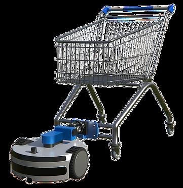 Cart Runner pulling a shopping cart