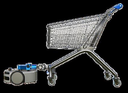 Cart Runner pulling a stray shopping cart