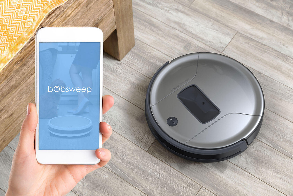 Robot vacuum controlled by mobile app
