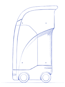 Smart Bin side profile