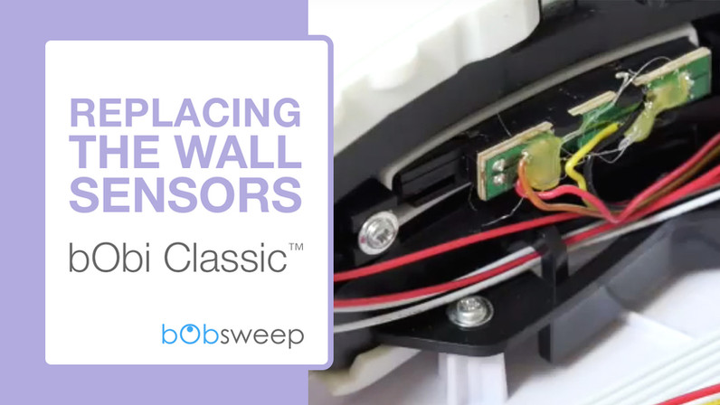 Replace the Wall Sensors