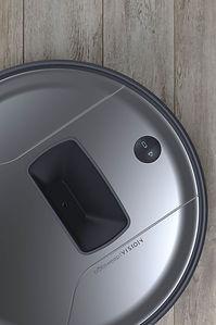 Closeup of Bob PetHair Vision camera and buttons