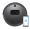 Bob PetHair Vision robot vacuum in space gray