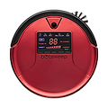 Bob PetHair robot vacuum in rouge
