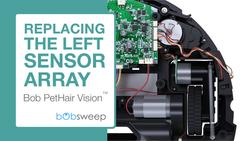 Replace the Left Sensor Array