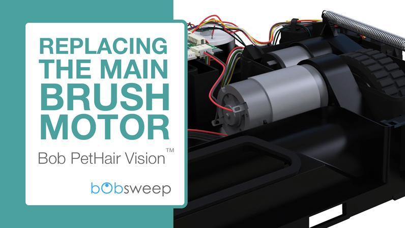 Replace the Main Brush Motor