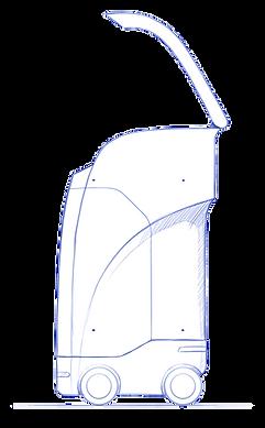 Smart Bin open top