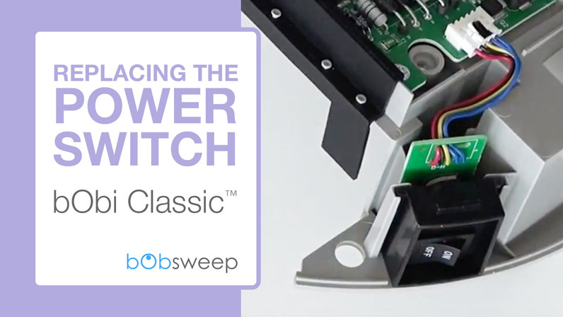 Replace the Power Switch