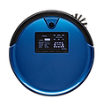 Bob PetHair Plus robot vacuum in cobalt blue