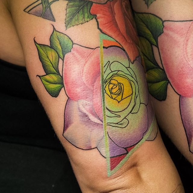 Creative spin I put on this rose & would love to do more like this one__Currently located in Los Ang