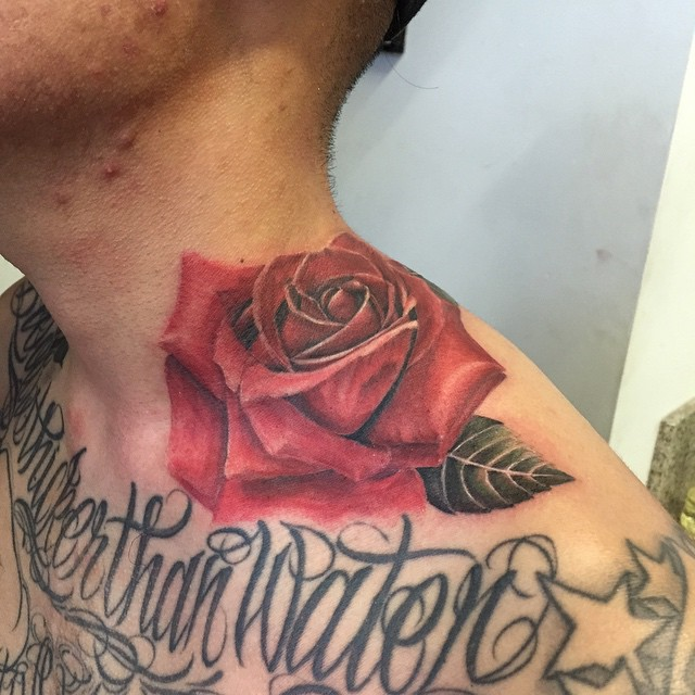 Made another rose today on the homie _vincethebarber _Took about 5 hours or so to complete, but a bi