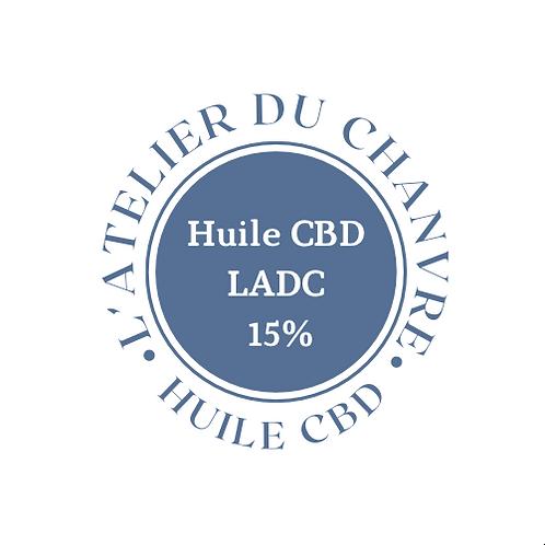 Huile CBD 15% - 10ml