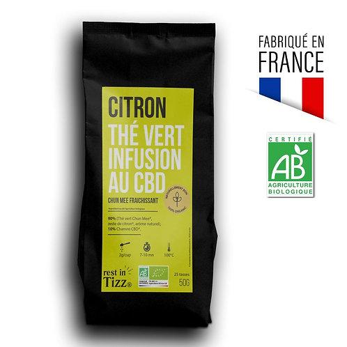 Thé Vert Citron - Infusion CBD