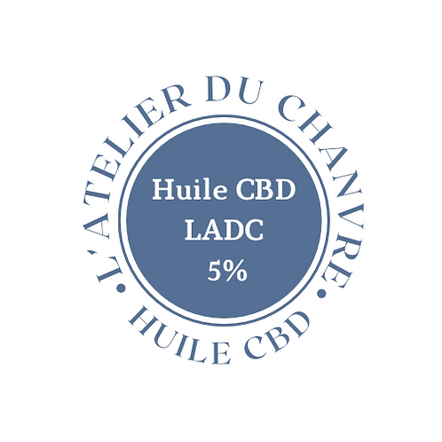 Huile CBD 5% - 30ml