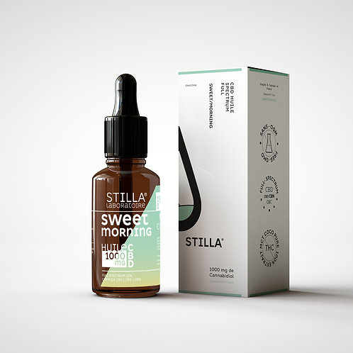 Huile CBD 10% - Sweet Morning