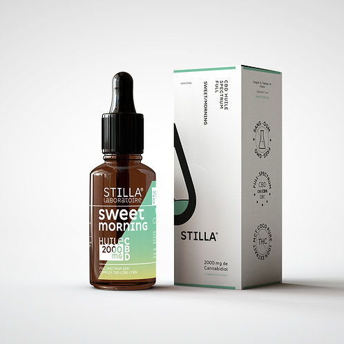Huile CBD 20% - Sweet Morning