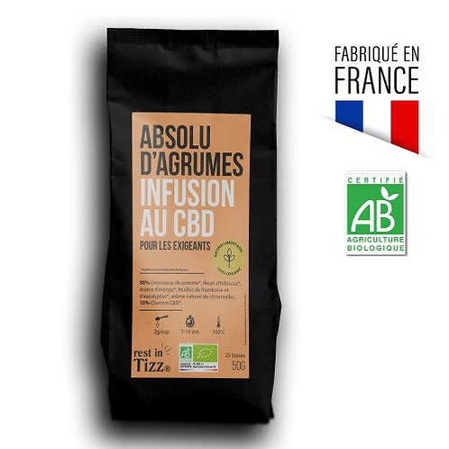 Absolu d'Agrumes - Infusion CBD