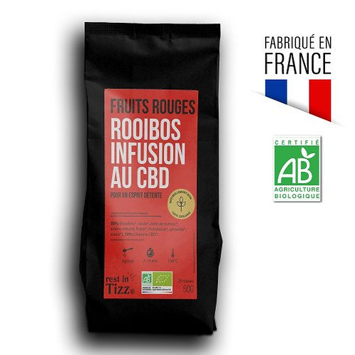 Roiboos Fruits Rouges - Infusion CBD