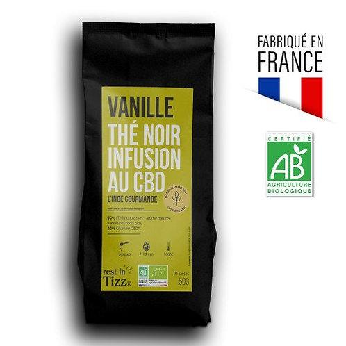 Thé Noir Vanille - Infusion CBD