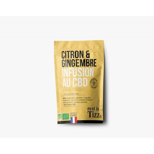 Citron & Gingembre - Infusion CBD