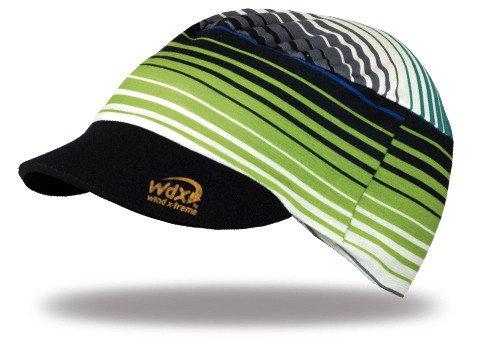 כובע מצחייה  CooLCap KIDS מתקפל עם הגנת UV  מנדף זיעה - פסים לילדים
