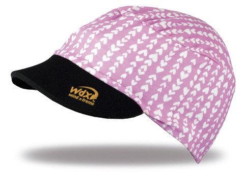 כובע מצחייה  CooLCap KIDS מתקפל עם הגנת UV  מנדף זיעה - לבבות לילדים