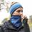 Thumbnail: חם/מחמם צוואר מיוחד לפנים מצח ואוזניים - כחול
