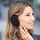 Thumbnail: זוג מחממי אוזניים קומפקטיים בנרתיק לאחסון - ורוד