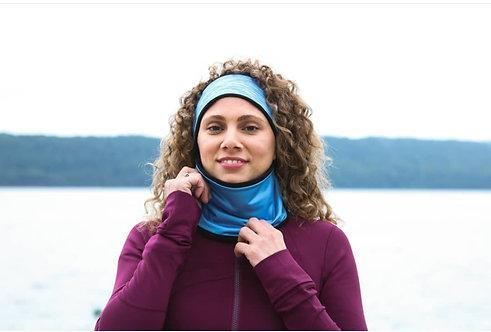 חם/מחמם צוואר מיוחד לפנים מצח ואוזניים - כחול