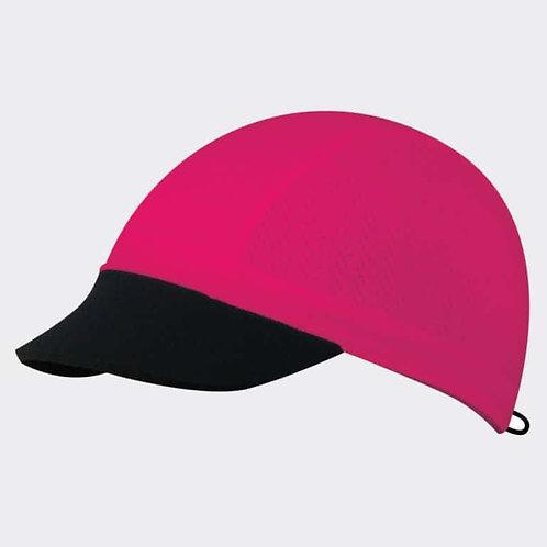 כובע ריצה מקצועי COOL CAP  מתקפל עם הגנת UV מנדף זיעה - ורוד