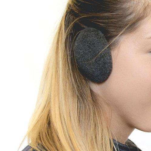 מחממי אוזנים קומפקטיות - שחור