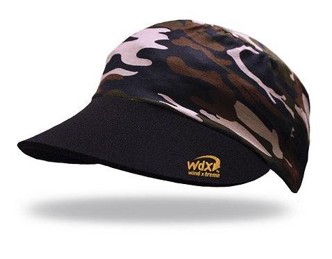 כובע ריצה וטיולים מתקפל UV גמיש ומקרר - צבאי